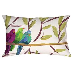 Flocked Together Pillow I at Joss & Main