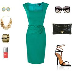 formal spring outfit