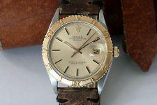 ROLEX VINTAGE DATEJUST THUNDERBIRD 1625 STAINLESS STEEL/18K. GOLD - 1972