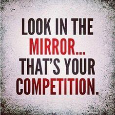 Self competition motivation