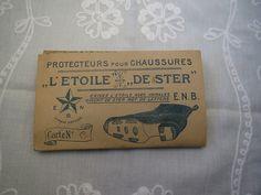 Vintage 1940's Iron Shoe Sole Protectors 6 pieces by karmolijntje, €14.75