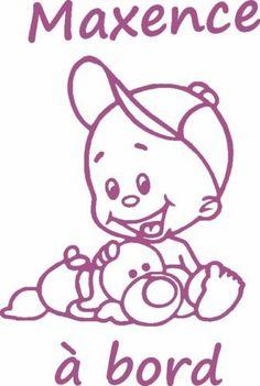 Stickers Baby ON Board Baby AAN Boord Canada Z241   eBay