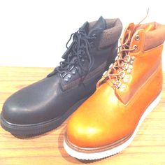 """white mountaineering """"promitive timberland boots"""" 4/24 release flag shop only"""