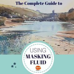TUTORIAL: The complete guide to masking fluid by artist Rob Dudley. Lots of neat tips and tricks in this video Watercolor Masking Fluid, Watercolor Tips, Watercolour Tutorials, Watercolor Artwork, Watercolor Techniques, Painting Techniques, Landscape Watercolour, Watercolor Pencils, Painting Videos
