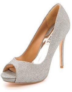 d1e073f64570 Badgley Mischka Kassidy II Peep Toe Pumps  badgleymischka  peeptoe  pumps   heels