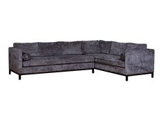 Van Gogh Designs | The Art of Comfort Hutton II Sectional Bonus Room in Indigo
