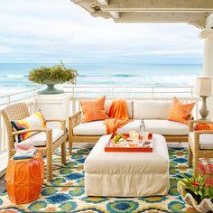 Fire Island Deck - 65 Beachy Porches and Patios - Coastal Living