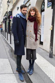 ミラノ、ロンドン、NYと世界の都市のカップルに焦点をあてたスナップも、いよいよパリへ。シック&エフォートレスをこよなく愛する恋人たちに、お互いのスタイルについて語ってもらいました。