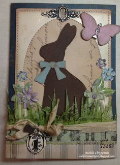 Richele Christensen: Sizzix Alterations Easter Elements die http://californiaartgirl.blogspot.com/2013/01/cha-samples.html