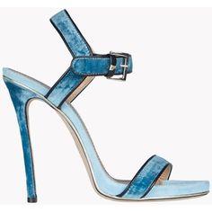 DSQUARED2 Velvet Sandals ($900) ❤ liked on Polyvore featuring shoes, sandals, heels, azure, velvet shoes, heeled sandals, dsquared2, dsquared2 shoes and velvet sandals