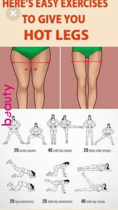 You will only need 10 minutes a day to get rid of the stubborn fat on the thighs. | Excercises Daily | Pinterest | Fitness, Workout and Exercise « Beauty Club