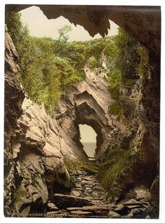 Watermouth caves, Ilfracombe, England, between ca. 1890 and ca. 1900, Detroit Publishing Co.