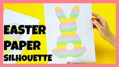 How to Make Easter Silhouette - paper craft ideas