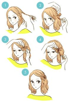 quick hairstyle in 3 minutes- wonderful diy6
