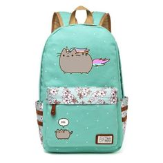 Kawaii Narwhal Canvas Bag Unicorn Backpack For Teenagers Girls Women School Travel Shoulder Bag Backpacks For Adolescent Girl Luggage & Bags
