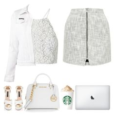 """""""#78th"""" by firaaaa ❤ liked on Polyvore featuring Topshop, Philipp Plein, KAROLINA and MICHAEL Michael Kors"""