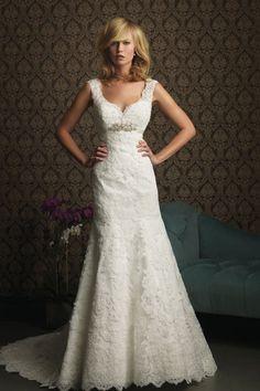 Prinzessin Herz-Ausschnitt Spitze Kapelle Schleppe elegantes Brautkleid