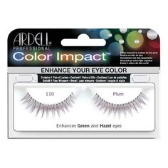 Ardell Professional Color Impact Lashes 110 Plum