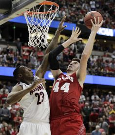 Badgers men's basketball: Wisconsin claws past Arizona, 64-63, to get to Final Four : Men
