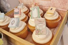 Jane Austen Book Club Cupcakes