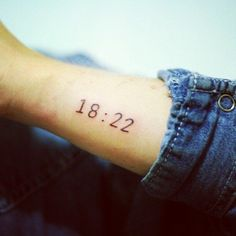 Tattoo Designs with Roman Numerals