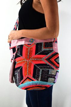 Luxury Mochila Bags with Leather and by NinaBonitaBoutique on Etsy