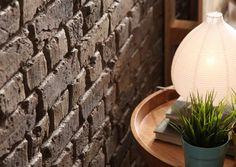 Old British Brick - Brown - Decoraive wall covering 1m²/panel