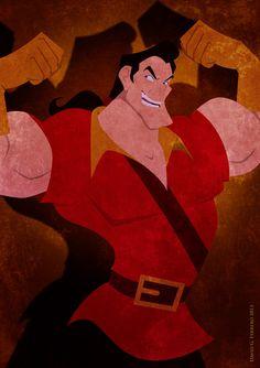Gaston by Chernin.deviantart.com on @deviantART