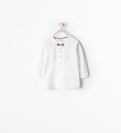 CAMISETA ESTAMPADO PAJARITA - Camisetas - Bebé niño (3 meses - 3 años) - NIÑOS   ZARA México