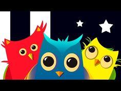 Video para bebés y niños de 1 a 3 años. Los Búhos - YouTube