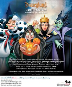 Halloween time at the Disneyland® Resort - Travel With The Magic | Travel Agent | Disney Vacation