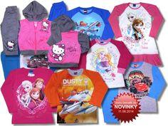 Nový tovar v ponuke od 11.08.2014 - Detské oblečenie Disney, Hello Kitty, Monster High, Losan.. - Internetový obchod - benatti.sk