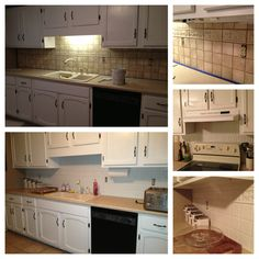 yes!!! you can paint over tile!! i turned my backsplash kitchen