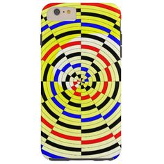 Yellow Spirals Case-Mate Tough iPhone 6 Plus Case