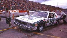 Darrell Waltrip Caprice 1979. #88! #OLDSCHOOLNASCAR Real Racing, Dirt Racing, Nascar Racers, Slot Car Sets, Mario Andretti, Chevrolet Caprice, Vintage Race Car, Car In The World, Car And Driver