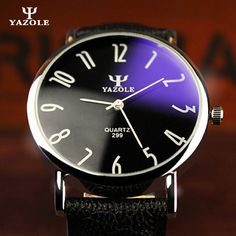 YAZOLE Quartz Watch Men 2017 Top Brand Luxury Famous Leather Wrist Watches Male Clock Wristwatch Fashion Dress Watches kol saati #Affiliate