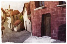 Village by *Iraville on deviantART