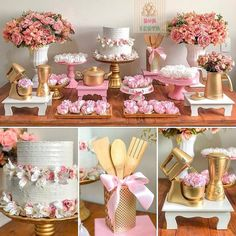 New Shabby Chic Cake Table Ideas Bridal Shower Decorations, Birthday Party Decorations, Birthday Parties, Wedding Decorations, Table Decorations, Kitchen Shower Decorations, Wedding Ideas, Cake Table, Dessert Table