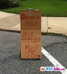 Is it bad that I think this is funny!!  No, but these kinds of sales are worth screeching your brakes for!  Trust me.