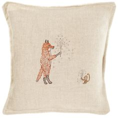 """Coral and Tusk - sparklers pillow 12x12"""" $74"""