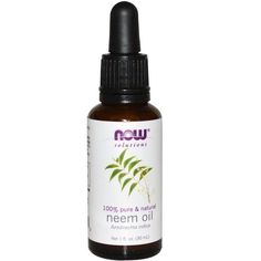 Now Foods, Solutions, Neem Oil, 1 fl oz ml) - iHerb Natural Insecticide, Azadirachta Indica, Pure Oils, Neem Oil, Nail Fungus, Tea Tree, Natural Oils, Natural Hair, Peppermint