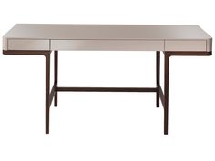 The Lema Victor Desk, designed by self-styled 'interior architect' Robert Lazzeroni, is a stylish and glamorous item suitable for a number of uses. Metal Furniture, Table Furniture, Furniture Design, Dressing Table Desk, Coffee Table To Dining Table, Resource Furniture, Writing Table, Office Table, Office Desks