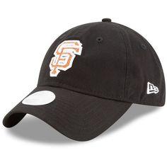 San Francisco Giants New Era Women's Team Glisten 9TWENTY Adjustable Hat - Black - $21.99
