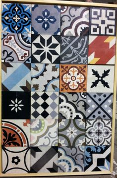 HAND MADE MOROCCAN  ENCAUSTIC TILES ZALLIJ (FOR FLOOR/WALL) FROM MARRAKECH