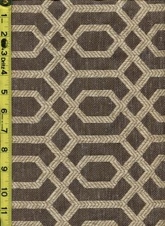 img9645 from LotsOFabric.com! A classic trellis lattice pattern in grey and taupe. Order swatches online or shop the Fabric Shack Home Decor collection in Waynesville, Ohio. #drapery #bedding #upholstery #furniture #inspo #interiordesign