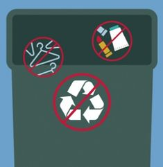 A foolproof guide to recycling packed with advice and tips on recyclable items and proper waste removal. From daily disposal to items with special requirements, we're here to help you get your recycle on and your old items gone! Waste Removal, Delta Faucets, Volkswagen Logo, Simple Living, Recyclable Items, Infographic, Recycling, Tropical, Advice