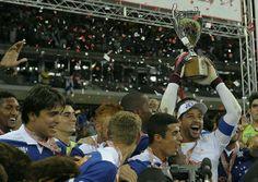 Cruzeiro EC, the champion of Campeonato Mineiro! Cruzeiro 0x0 Atletico Mineiro • April 13, 2014.