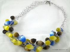 Lots of Free Jewelry Making Tutorials & Lessons: Featured Tutorial: Crocheted Necklace