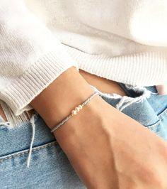 Freshwater Pearl Bracelet, Pearl Jewelry, Beaded Jewelry, Handmade Jewelry, Pearl Rings, Bohemian Jewelry, Punk Jewelry, Trendy Jewelry, Beaded Choker
