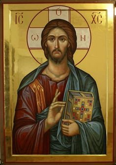 Whispers of an Immortalist: Icons of Jesus Christ 5 Images Of Christ, Religious Images, Religious Icons, Religious Art, Byzantine Icons, Byzantine Art, Christ Pantocrator, Greek Icons, Catholic Art